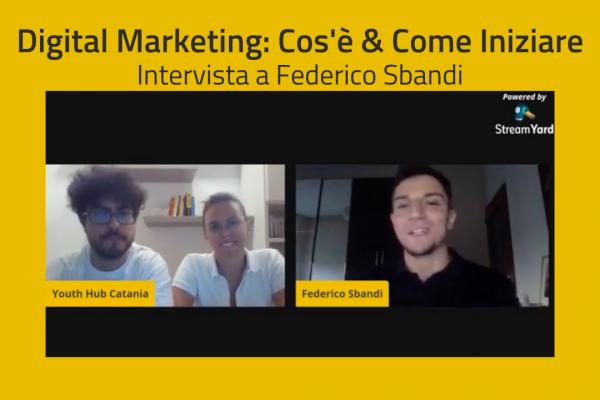 Digital Marketing Startup - Federico Sbandi