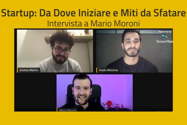 Copertina Intervista a Mario Moroni